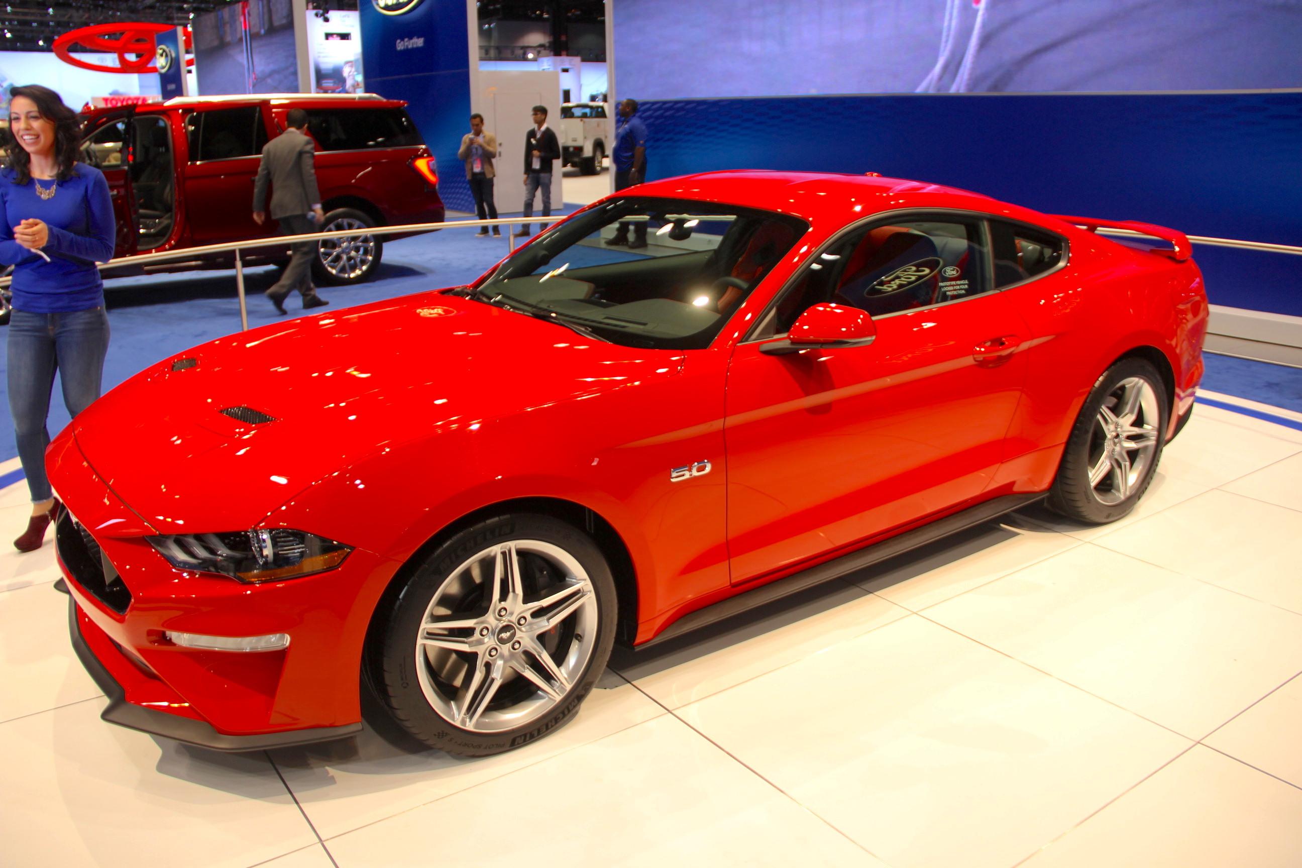 Conoce el nuevo Ford Mustang 2018