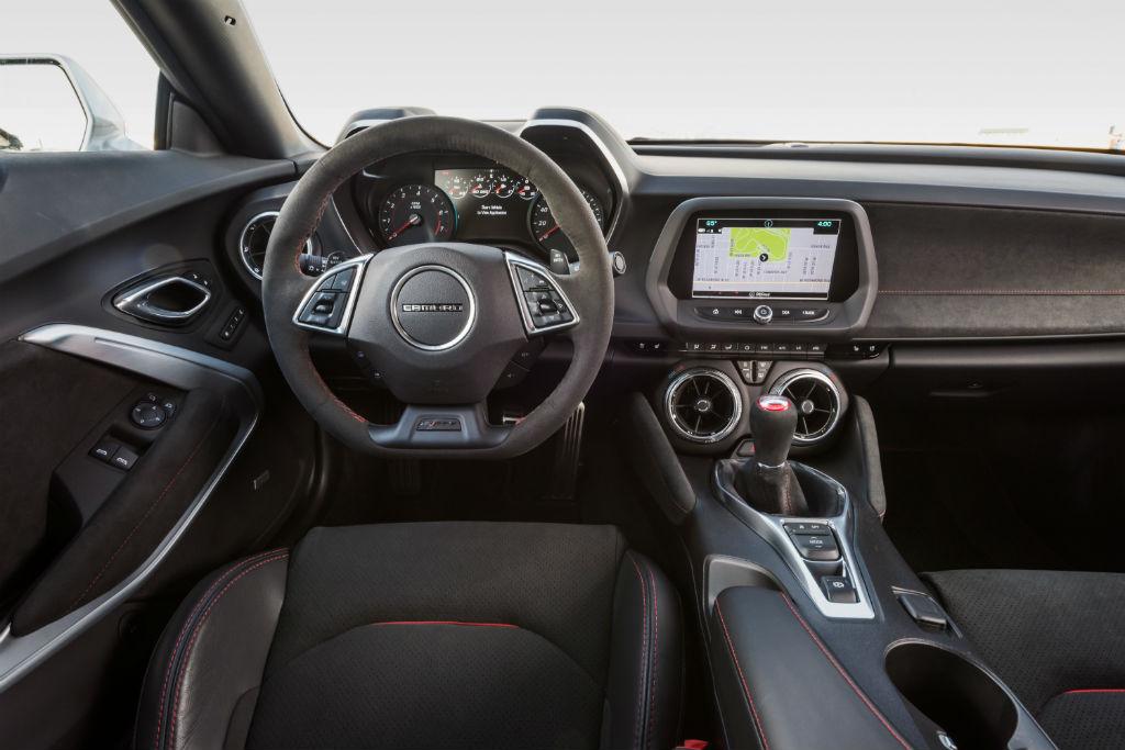 Chevrolet Camaro ZL1 La versión Más Poderosa de este Auto en toda su Historia